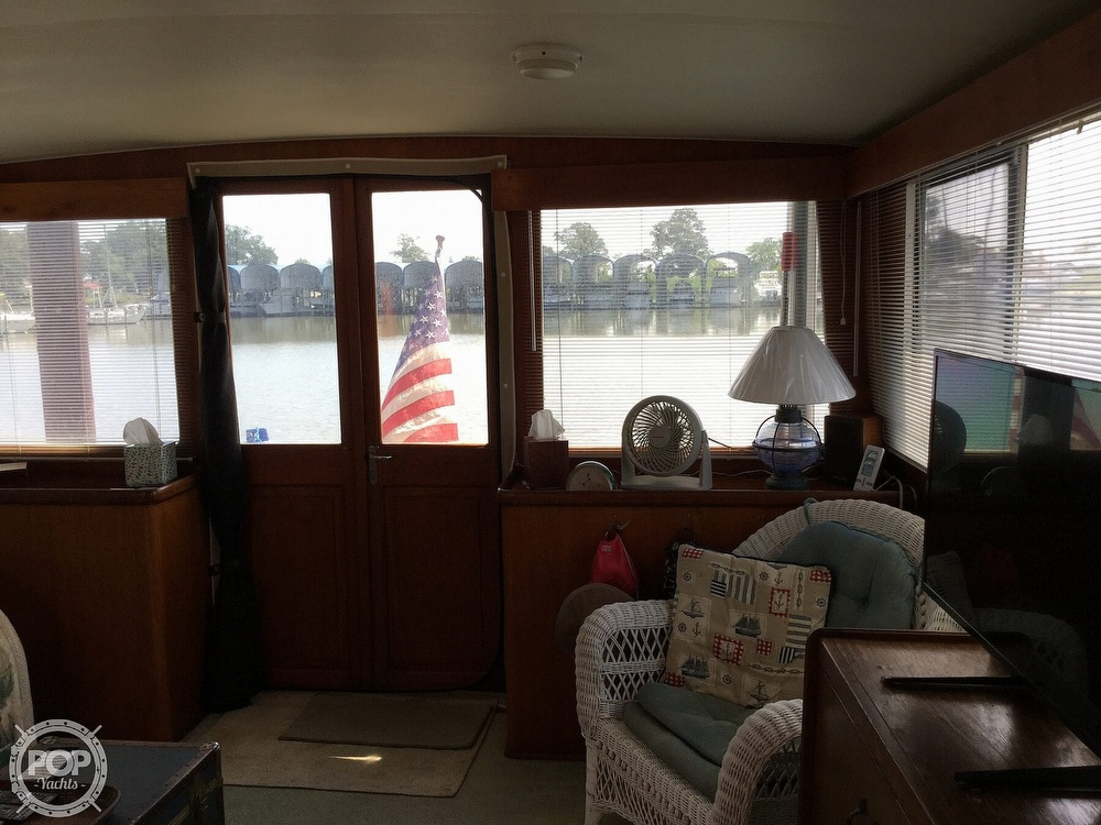 1985 Gulfstar boat for sale, model of the boat is 49 MY & Image # 20 of 40