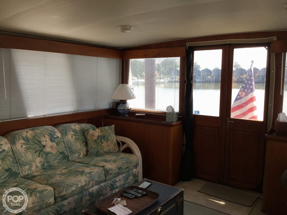 1985 Gulfstar boat for sale, model of the boat is 49 MY & Image # 22 of 40