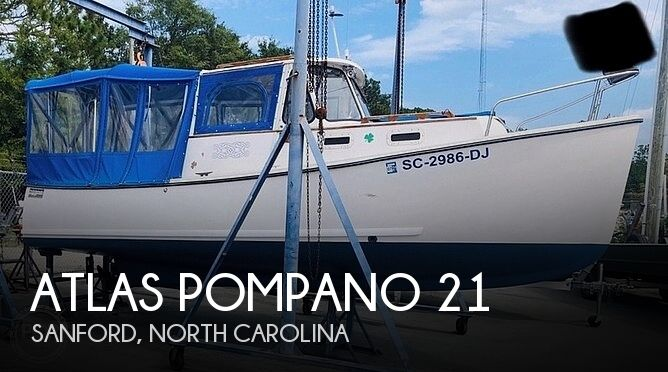 Used Boats For Sale in Fayetteville, North Carolina by owner | 1992 Atlas Pompano 21