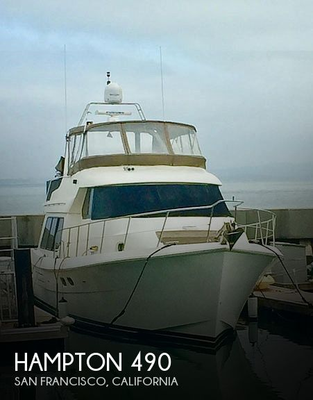 Used Boats For Sale in Santa Cruz, California by owner | 2002 Hampton 49