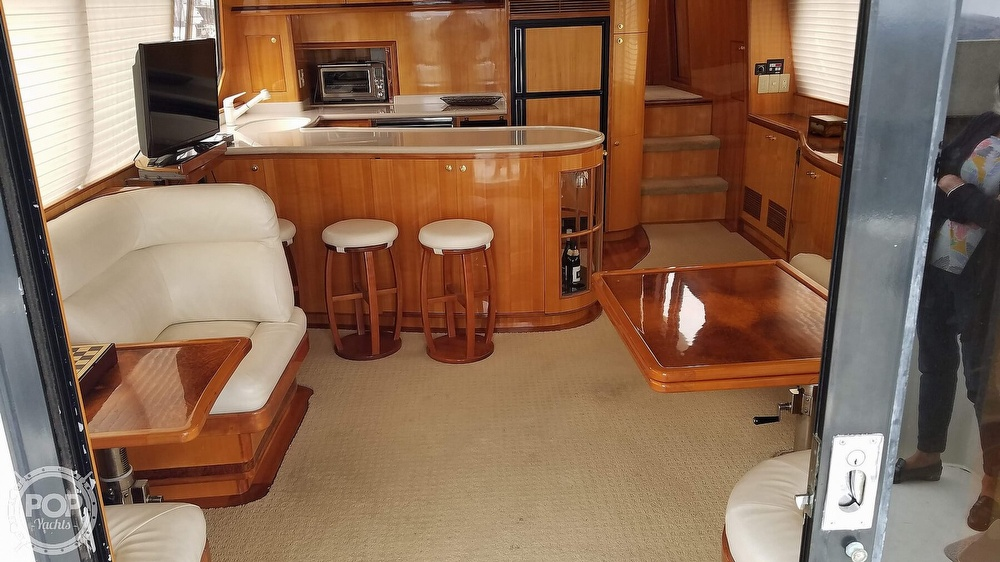 2002 Hampton boat for sale, model of the boat is 490 Pilot House & Image # 4 of 40
