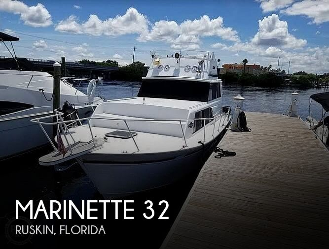 1986 MARINETTE 32 for sale