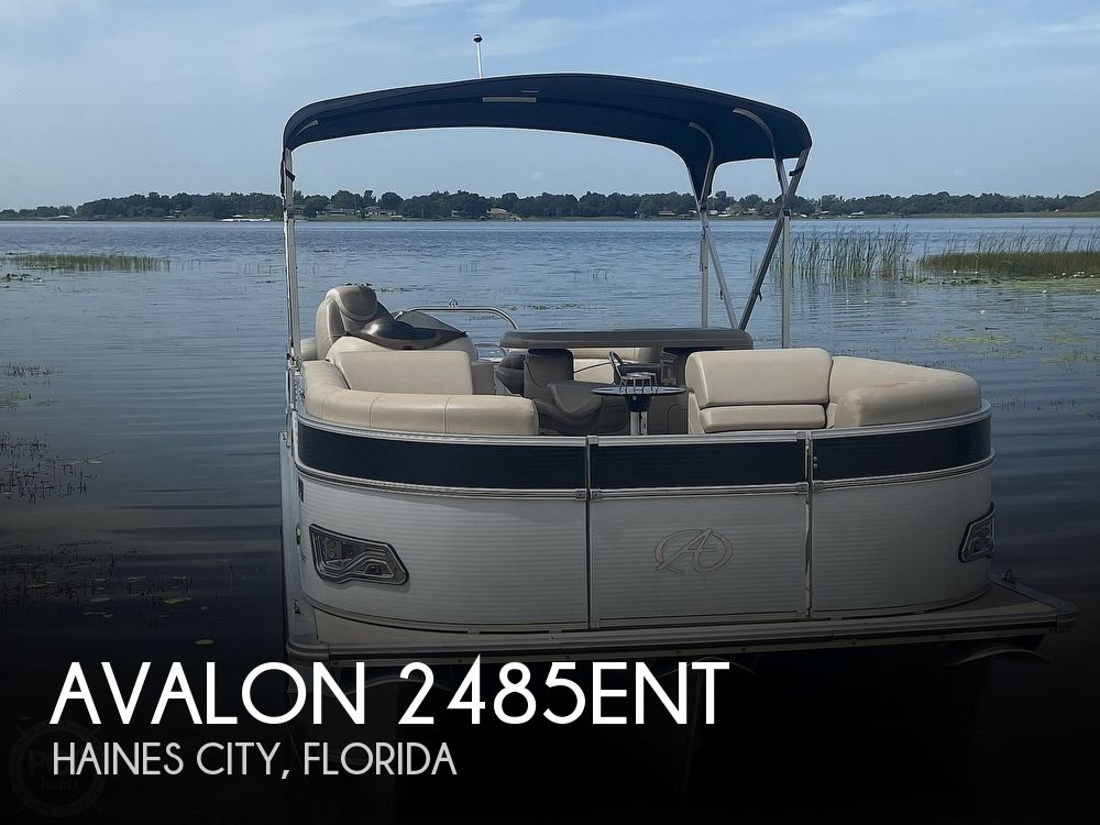 2013 Avalon boat for sale, model of the boat is 2485ENT & Image # 1 of 41