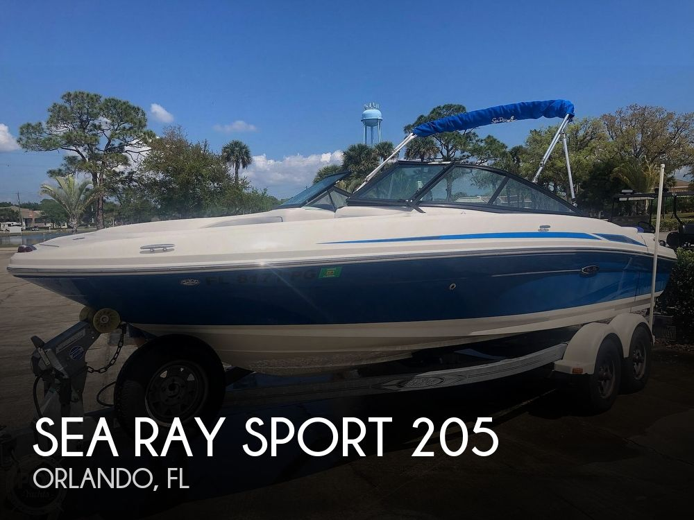 Used Sea Ray Sport Boats For Sale by owner | 2012 Sea Ray Sport 205