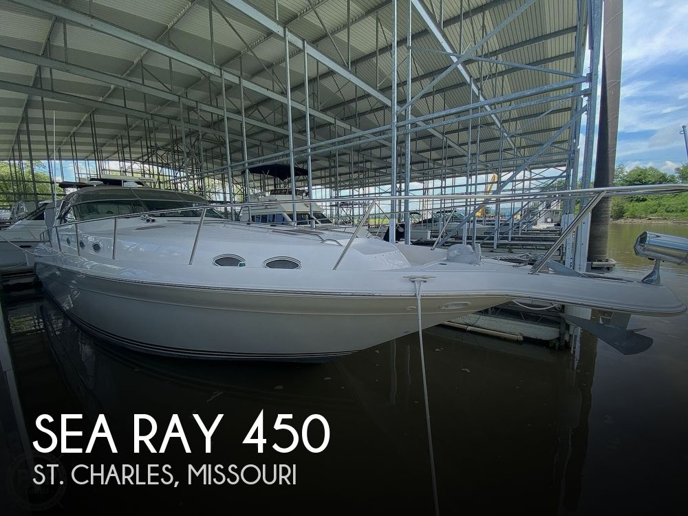 Used Boats For Sale in St. Louis, Missouri by owner | 1996 Sea Ray 450 Sundancer