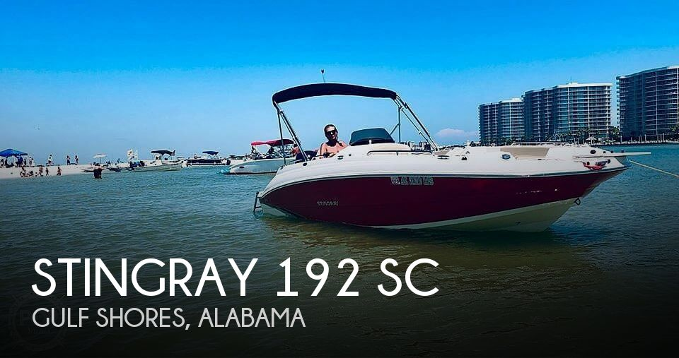 Used Stingray Deck Boats For Sale by owner | 2015 Stingray 192 Sc