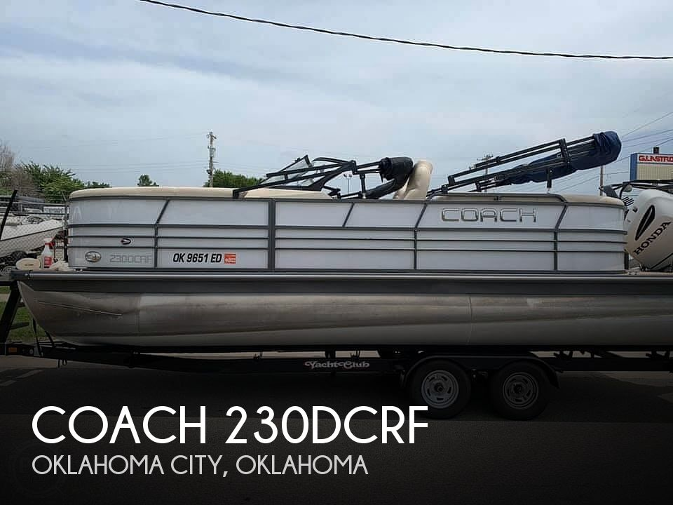 Used Boats For Sale in Oklahoma City, Oklahoma by owner | 2018 Coach 25' Tritoon