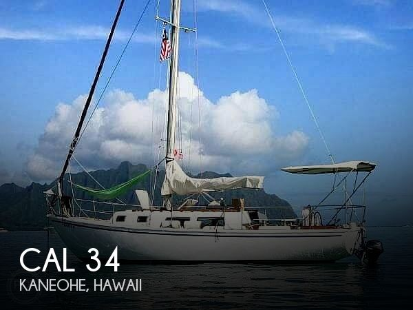 Used Boats For Sale in Hawaii by owner | 1974 CAL 34