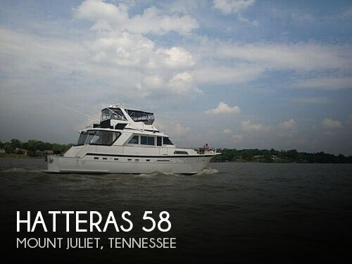 1979 HATTERAS 58 YACHTFISH for sale