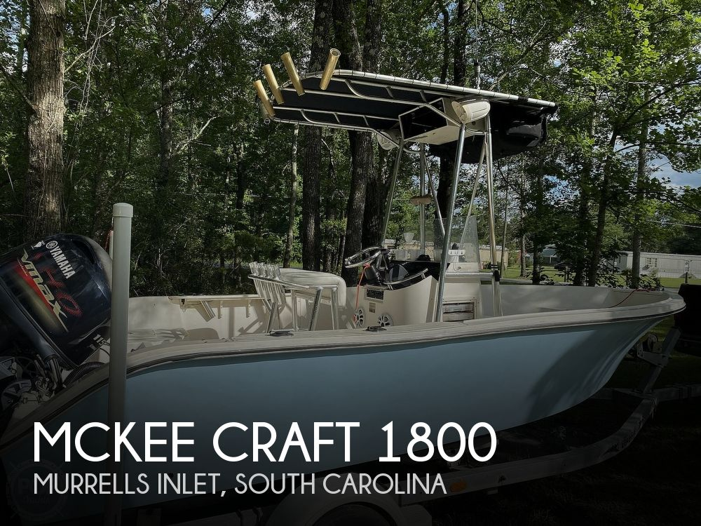 Used Mckee craft Boats For Sale by owner | 2001 Mckee Craft Pulse 1800 CC