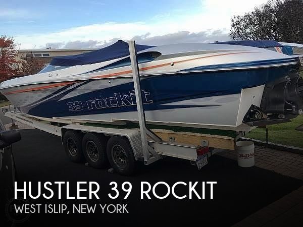 Used Boats For Sale in New Haven, Connecticut by owner | 2015 Hustler 39 Rockit