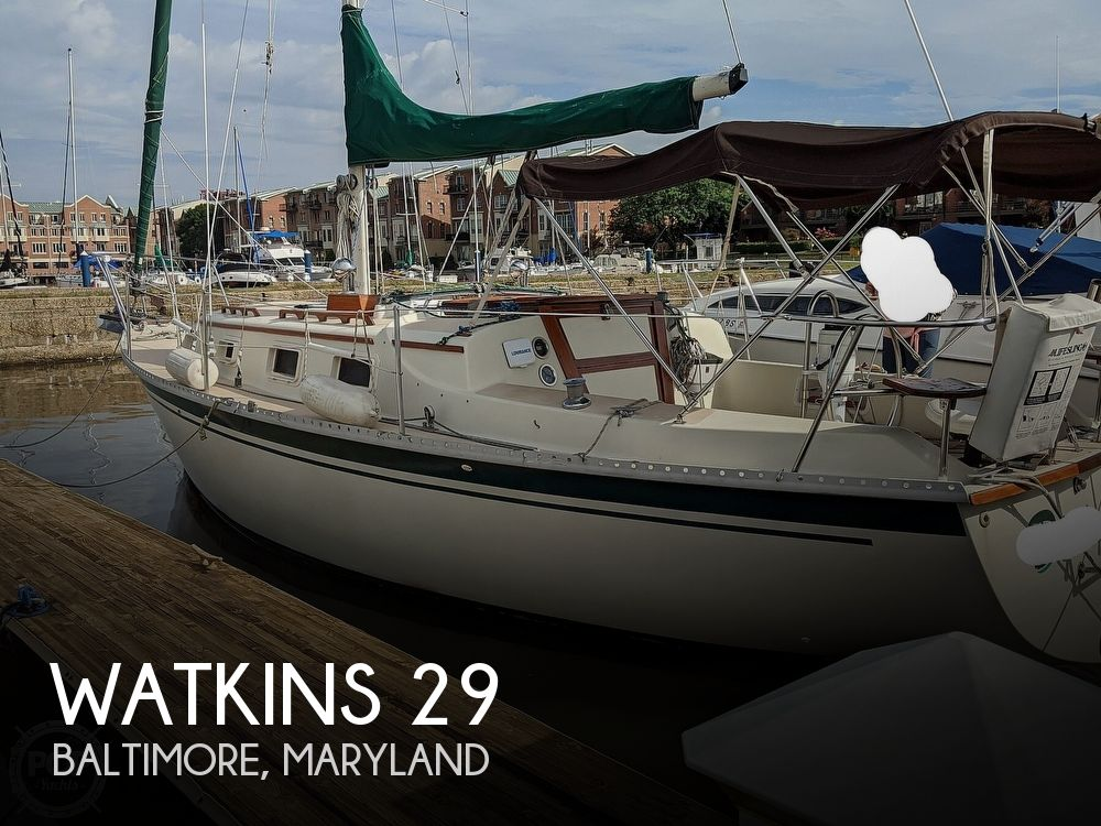 Used Watkins Boats For Sale by owner | 1984 Watkins Watkins 29 Masthead Sloop
