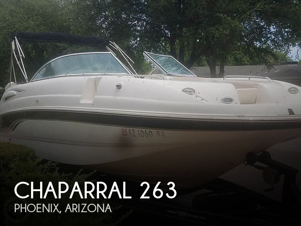 Used Chaparral 26 Boats For Sale by owner | 2003 Chaparral SUNESTA 263
