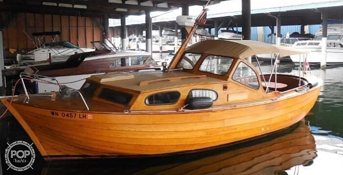 1977 Custom boat for sale, model of the boat is Norwegian Snekke Bridge Deck Cruiser & Image # 2 of 2