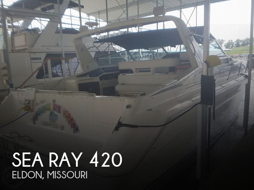 1991 Sea Ray boat for sale, model of the boat is Sundancer 440 & Image # 1 of 40
