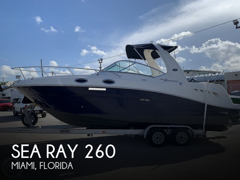Used Sea Ray 260 Sundancer Boats For Sale by owner | 2006 Sea Ray 260 Sundancer