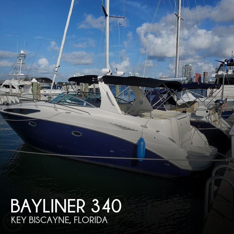 2008 Bayliner boat for sale, model of the boat is 340 Express Cruiser & Image # 1 of 41