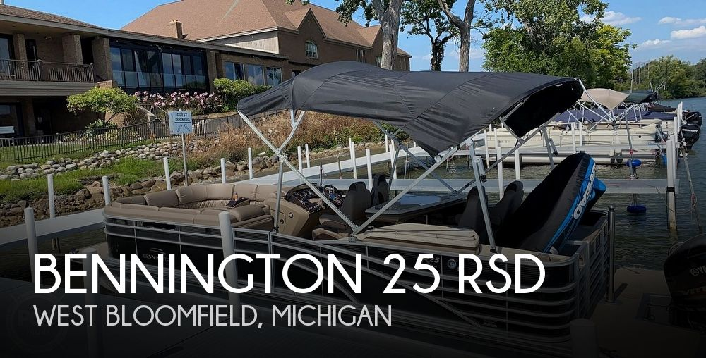 2018 BENNINGTON 25 RSD for sale