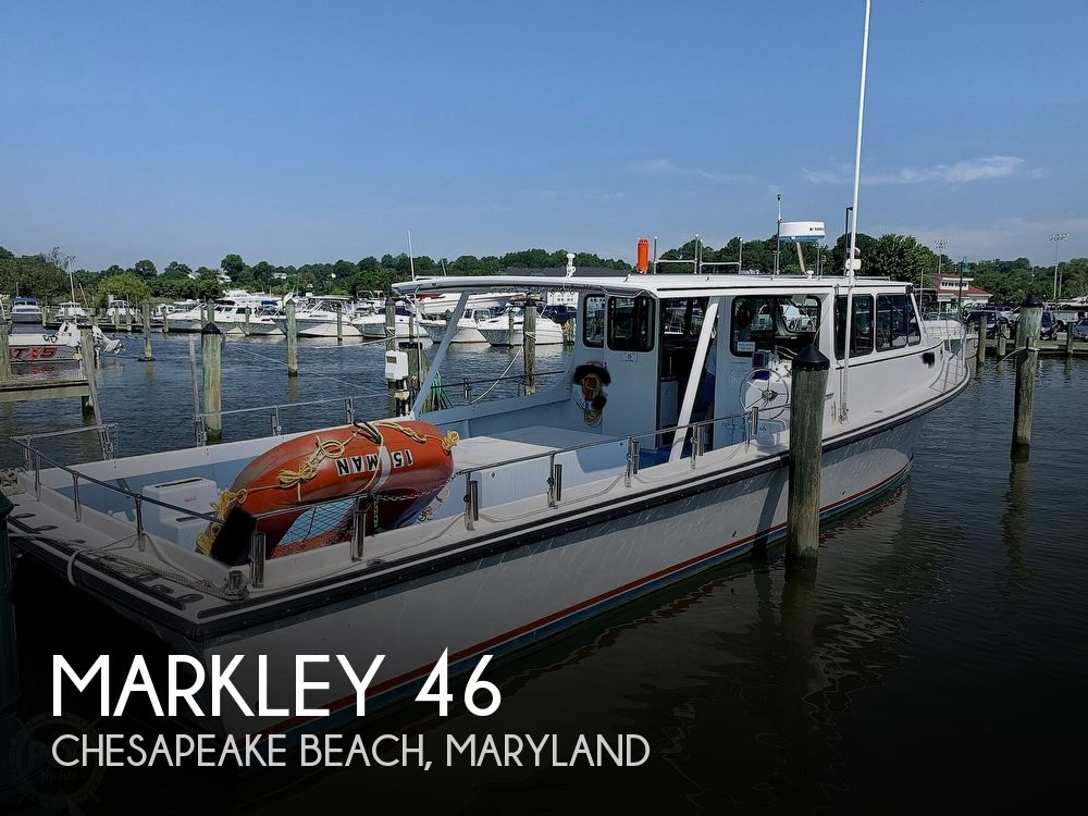 1998 Markley boat for sale, model of the boat is 46 & Image # 1 of 40
