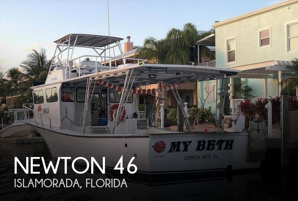 Used Power boats For Sale in Florida by owner | 2006 Newton 46