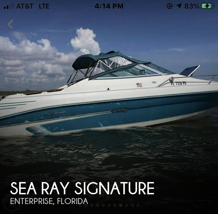 Used Sea Ray signature Boats For Sale by owner | 1994 20 foot Sea Ray Signature