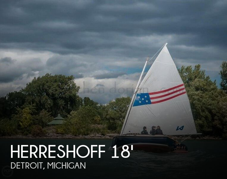 1972 Herreshoff boat for sale, model of the boat is 18 America & Image # 1 of 9