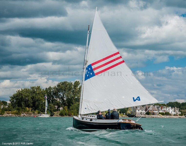 1972 Herreshoff boat for sale, model of the boat is 18 America & Image # 2 of 9
