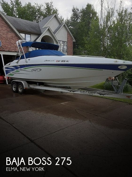 2006 Baja boat for sale, model of the boat is Boss 275 & Image # 1 of 41