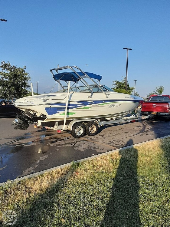 2006 Baja boat for sale, model of the boat is Boss 275 & Image # 2 of 41