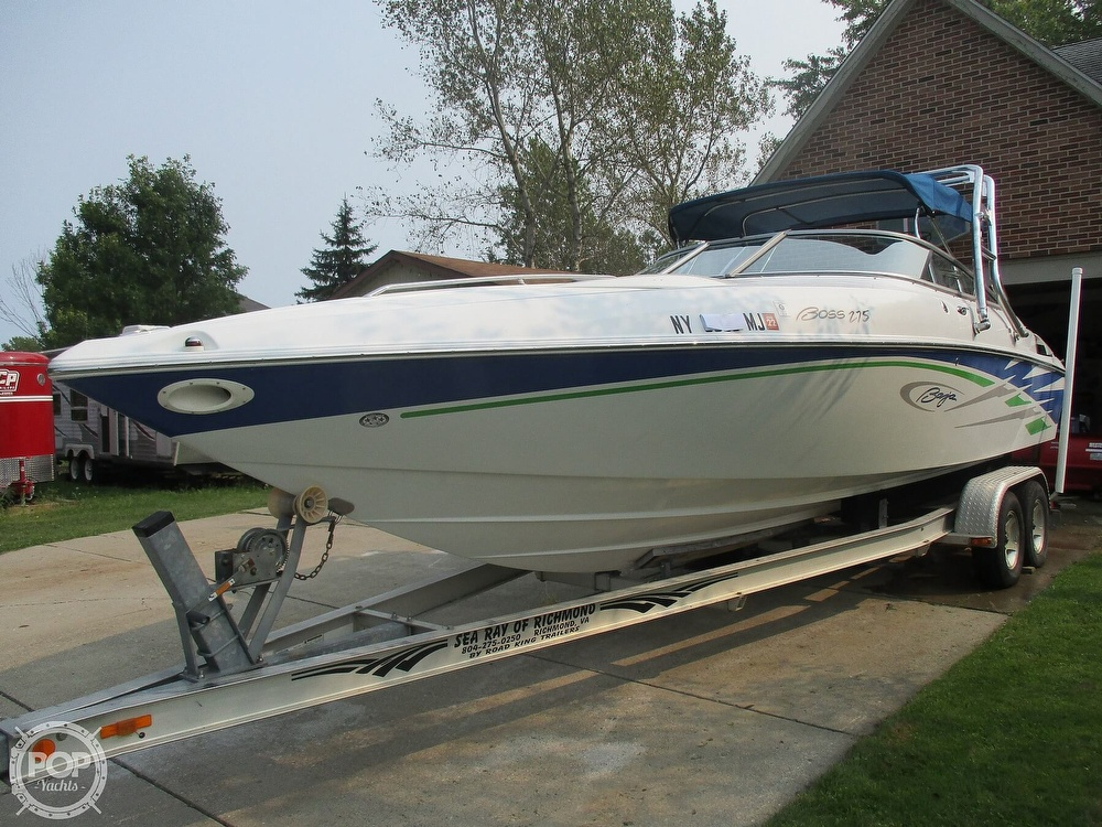 2006 Baja boat for sale, model of the boat is Boss 275 & Image # 23 of 41