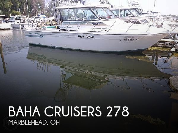 Used Fishing boats For Sale in Ohio by owner | 1994 Baha Cruisers 278 Fisherman