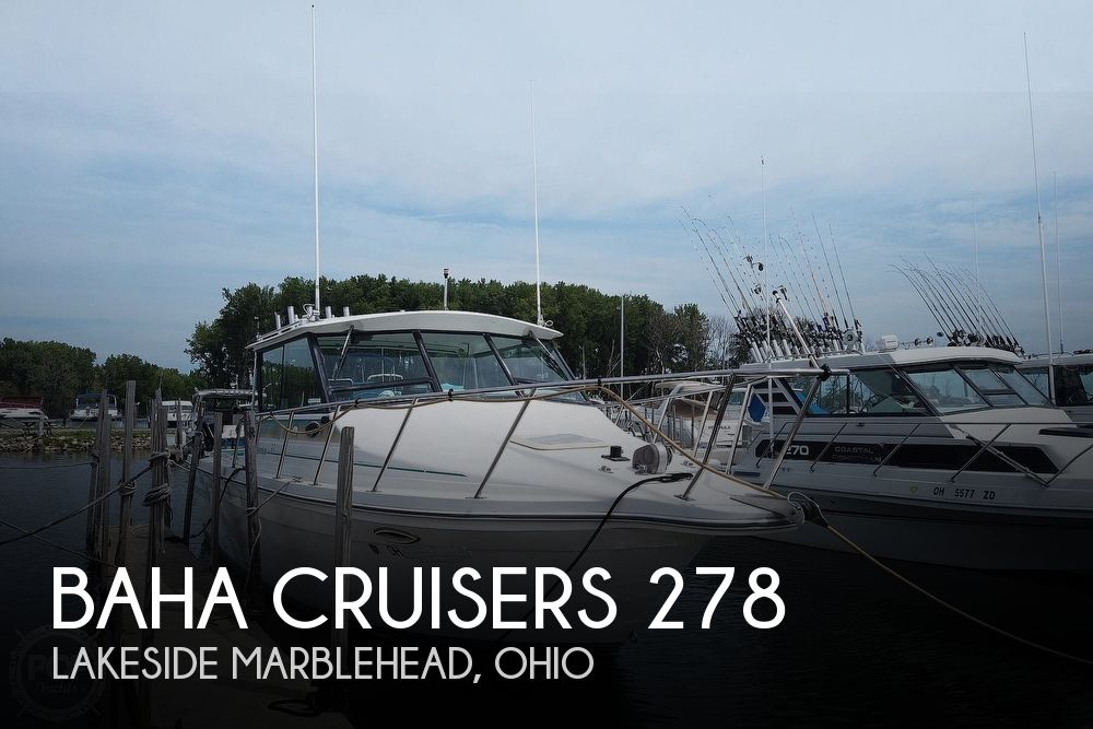 1994 BAHA CRUISERS 278 FISHERMAN for sale