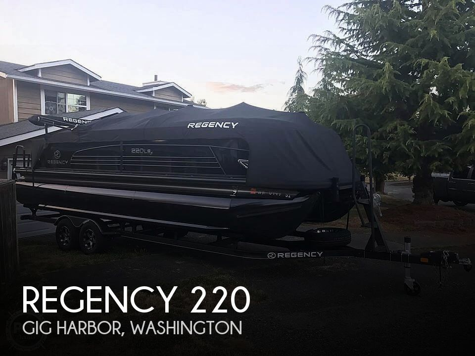 Used Ski Boats For Sale in Washington by owner | 2017 Regency 220 LE3 Sport