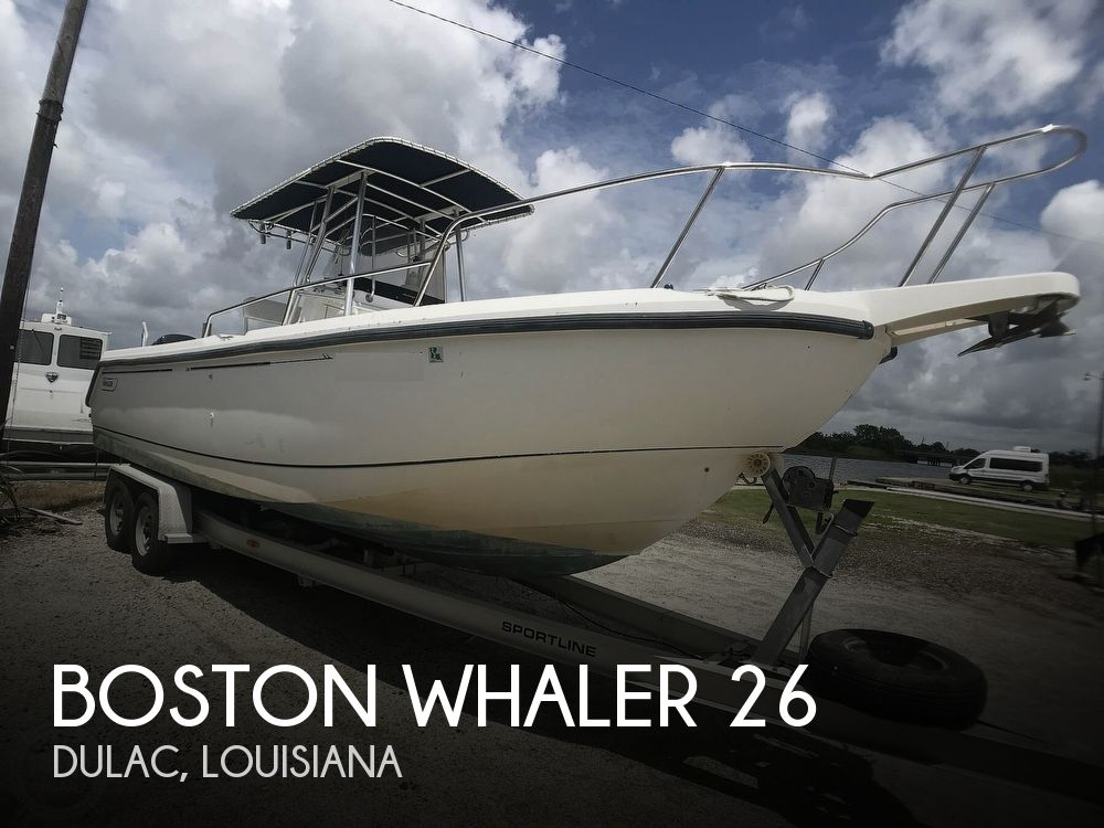 Used Boston Whaler Outrage 26 Boats For Sale by owner | 1998 Boston Whaler Outrage 26