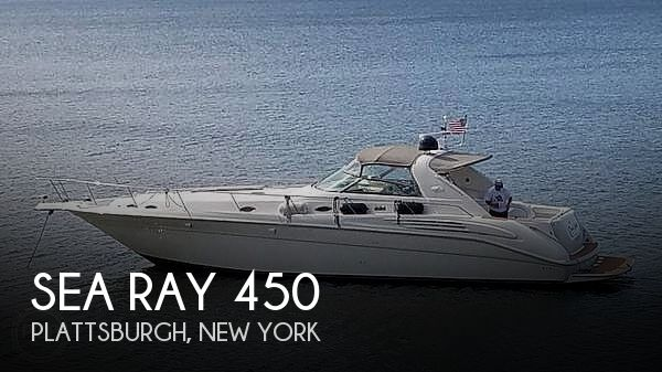 1996 Sea Ray boat for sale, model of the boat is 450 Sundancer & Image # 1 of 40