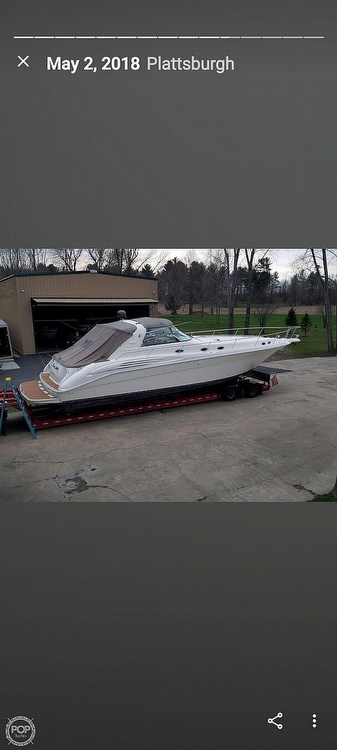 1996 Sea Ray boat for sale, model of the boat is 450 Sundancer & Image # 15 of 40