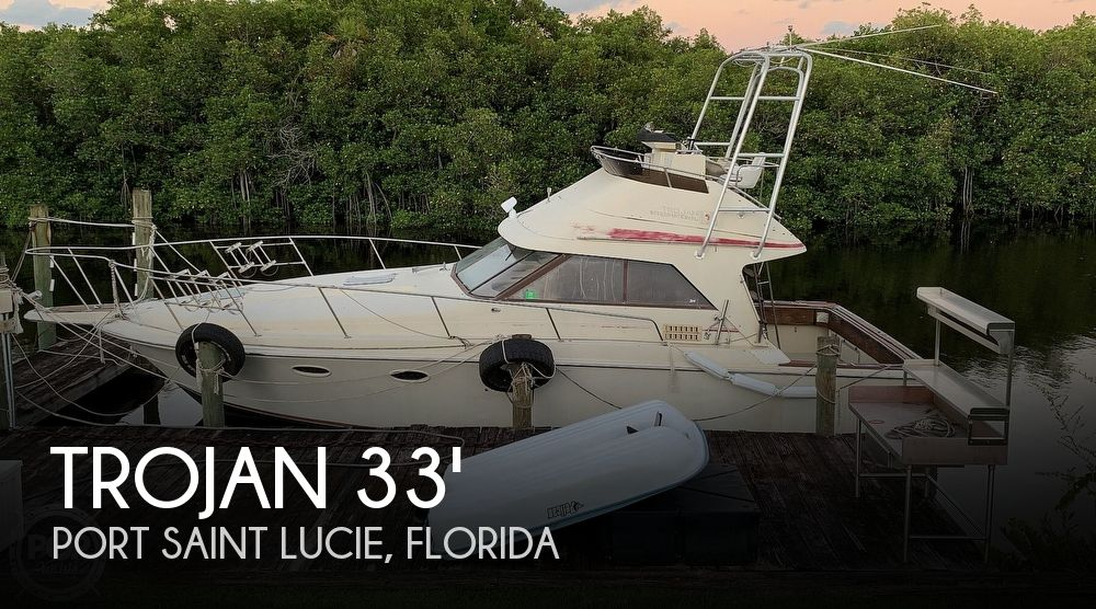 1982 Trojan boat for sale, model of the boat is 10 Meter International Sedan Flybridge & Image # 1 of 40