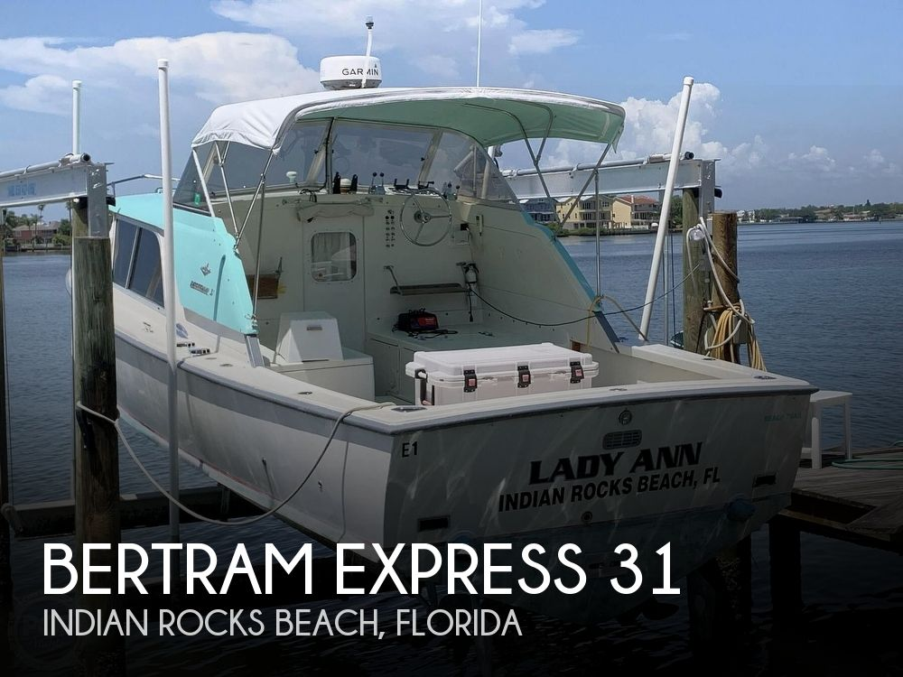 Used BERTRAM Fishing boats For Sale by owner | 1964 Bertram Express 31