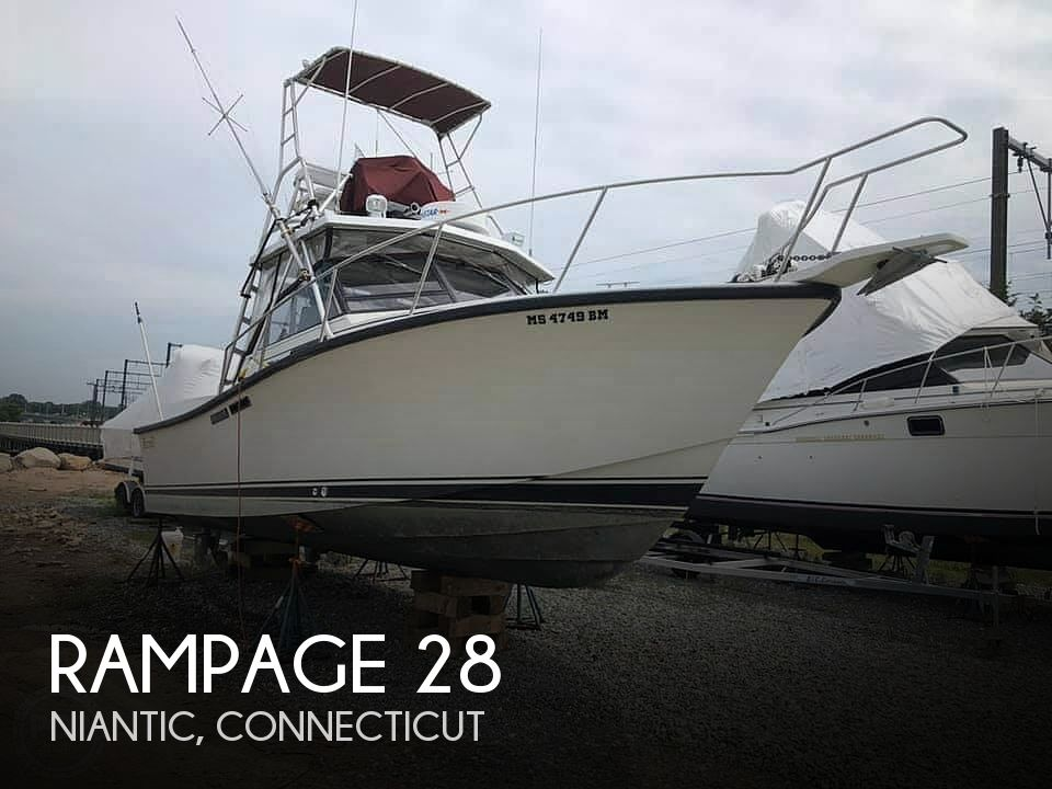 Used Rampage Boats For Sale by owner | 1990 Rampage 28