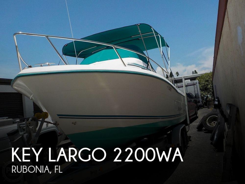 Used Key largo Boats For Sale by owner   2002 Key Largo 2200WA