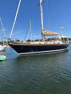 1984 Bristol boat for sale, model of the boat is 38.8 & Image # 2 of 41