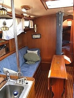 1984 Bristol boat for sale, model of the boat is 38.8 & Image # 4 of 41
