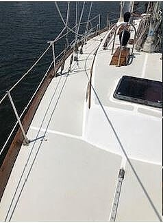1984 Bristol boat for sale, model of the boat is 38.8 & Image # 36 of 41