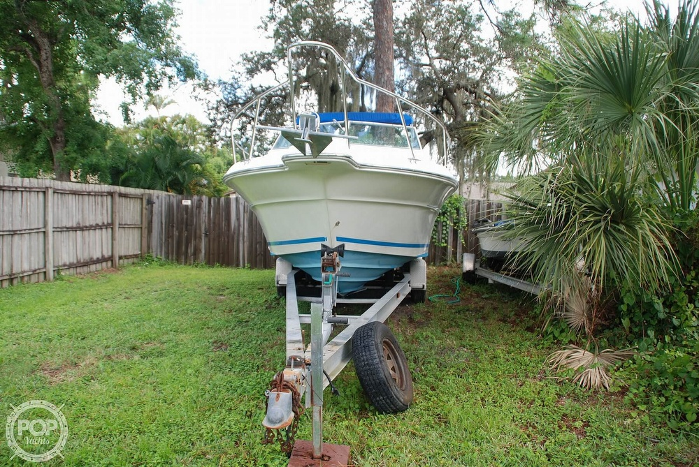 1996 Sea Ray boat for sale, model of the boat is Laguna 24 Flush Deck Cuddy & Image # 8 of 40