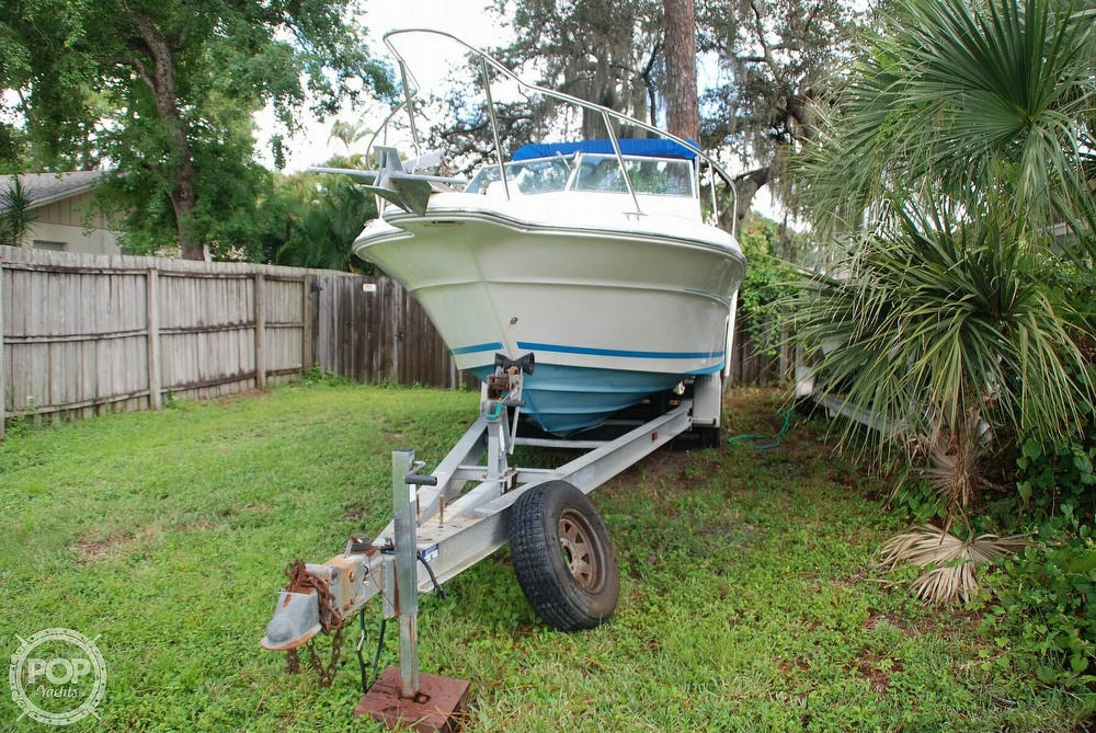 1996 Sea Ray boat for sale, model of the boat is Laguna 24 Flush Deck Cuddy & Image # 11 of 40