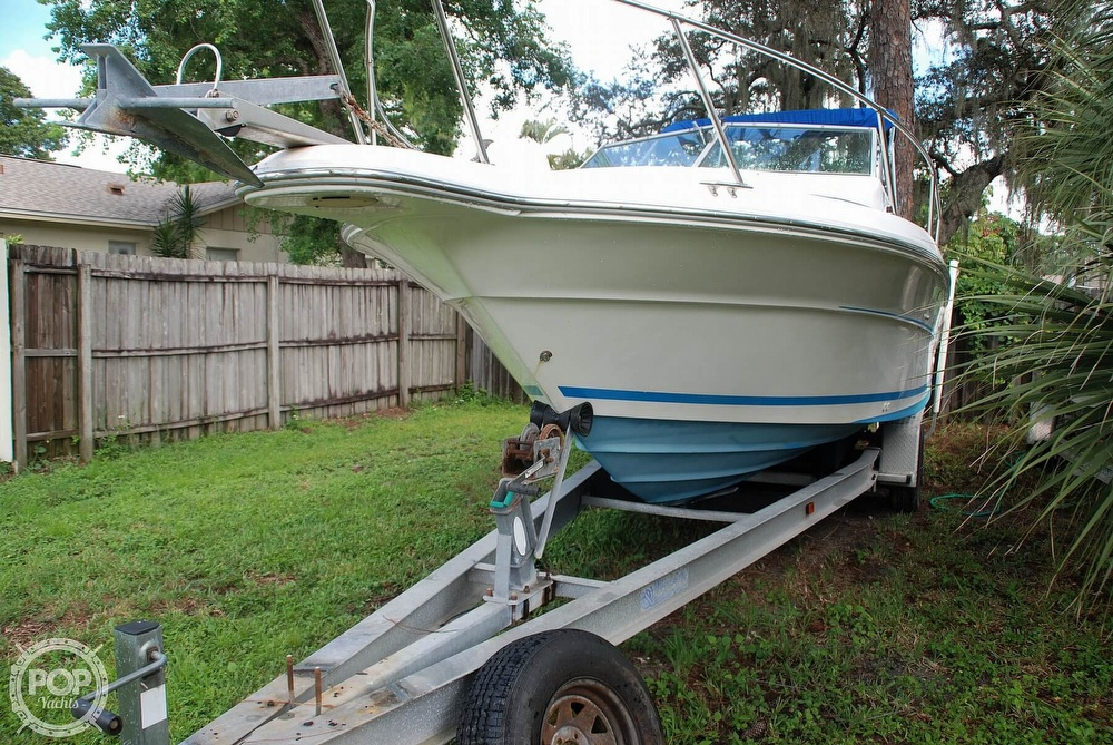 1996 Sea Ray boat for sale, model of the boat is Laguna 24 Flush Deck Cuddy & Image # 12 of 40
