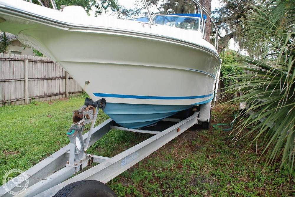 1996 Sea Ray boat for sale, model of the boat is Laguna 24 Flush Deck Cuddy & Image # 13 of 40