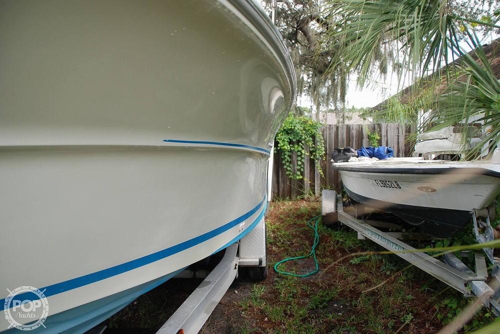 1996 Sea Ray boat for sale, model of the boat is Laguna 24 Flush Deck Cuddy & Image # 18 of 40