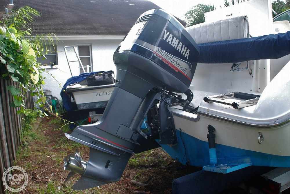 1996 Sea Ray boat for sale, model of the boat is Laguna 24 Flush Deck Cuddy & Image # 30 of 40