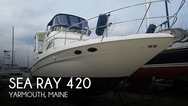 2000 Sea Ray boat for sale, model of the boat is 420 Aft Cabin & Image # 1 of 40